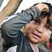 Children living on landfill