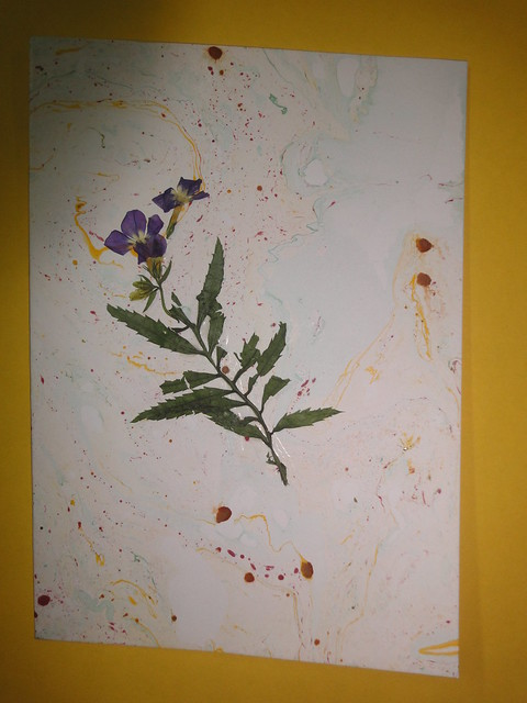 Dried Flower New year Card 6