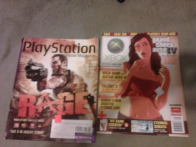 Game haul 12/30/11 - Magazines
