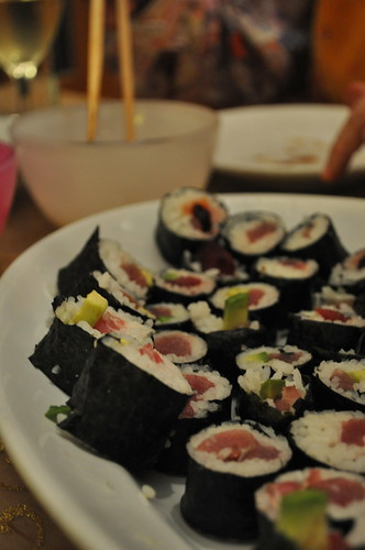 Homemade Sushi by the real Caffeamore