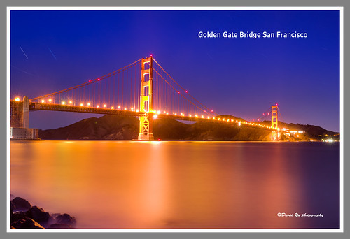 Golden Gate Bridge San Francisco by davidyuweb
