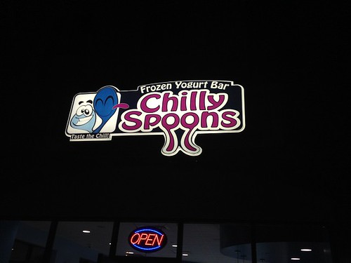 Chilly Spoons Sign