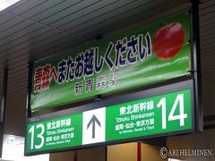 青森での最後の日 Last day in Aomori