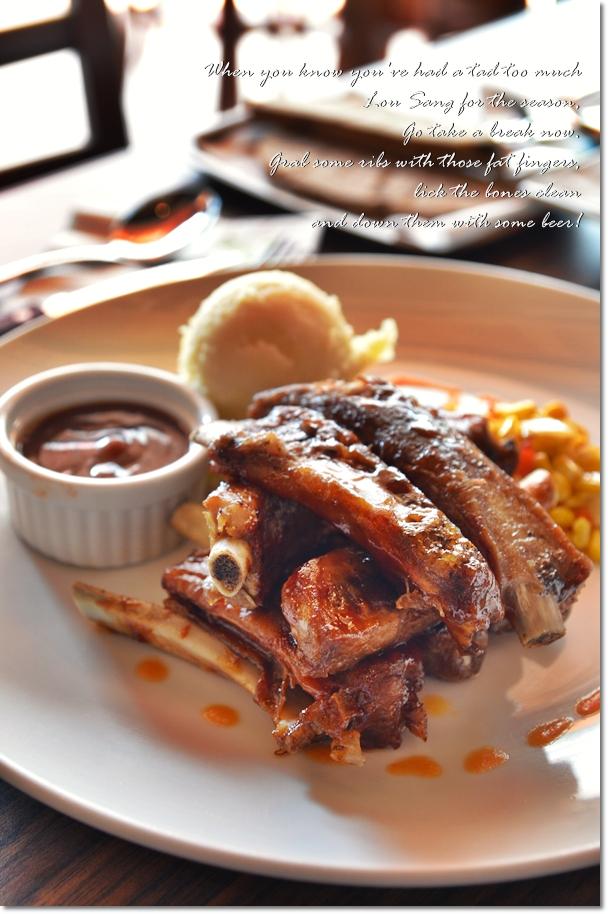 Delicious Pork Ribs @ Healy Mac's