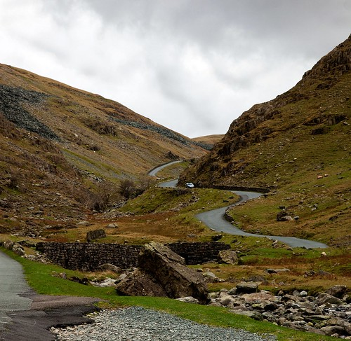 • Honiston Pass in the English Lake District •