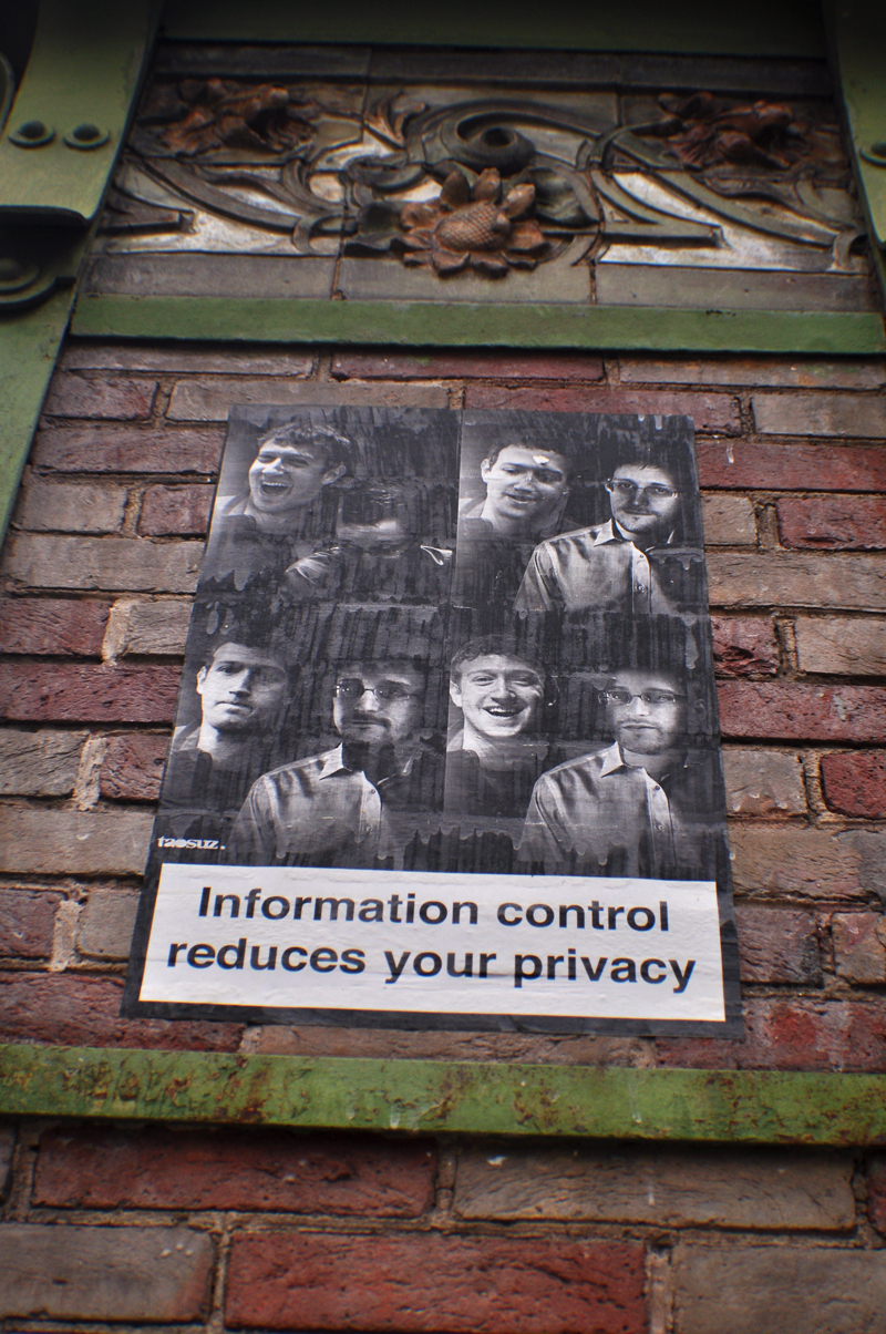 Information control reduces your privacy