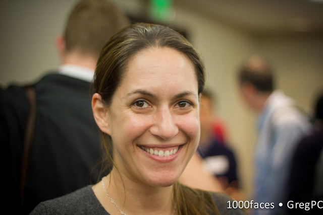 Face - smiling woman
