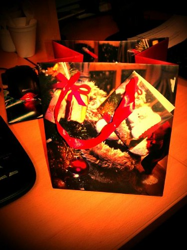 first Christmas present by Mike Harrison for eltpics
