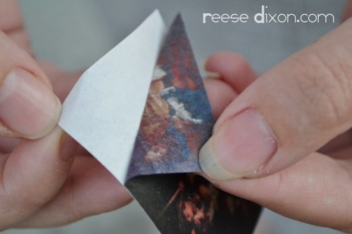 Glass Decoupage Ornament Tutorial Step 3