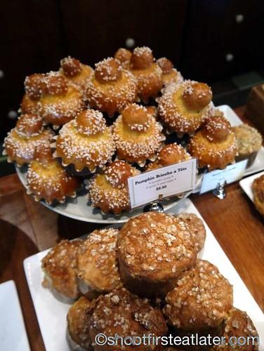Bouchon Bakery- pumpkin brioche