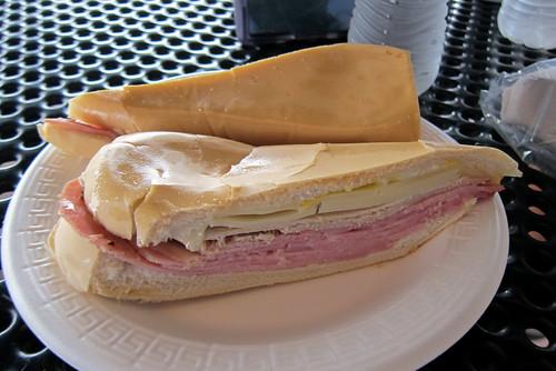 Miami - Flagami: El Palacio de los Jugos - Cuban Sandwich
