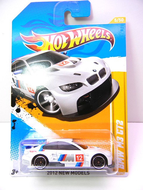 HOT WHEELS BMW M3 GT2 WHITE (1)
