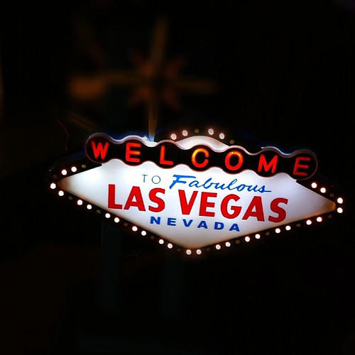 171: tiniest little Vegas sign. Want.