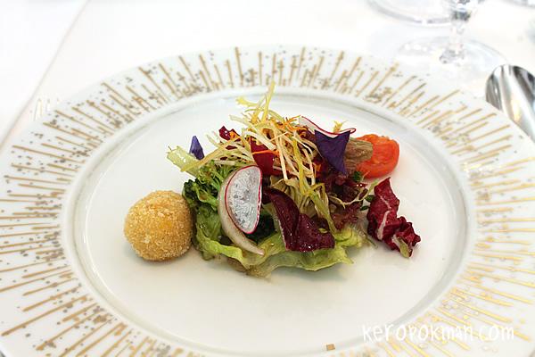 Spring Salad with Kagoshima Vegetables