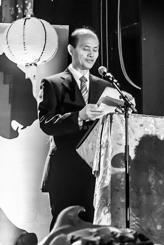 Chinese Ambassador to Ireland Luo Linquan Launches The Chinese New Year Festival In Dublin by infomatique