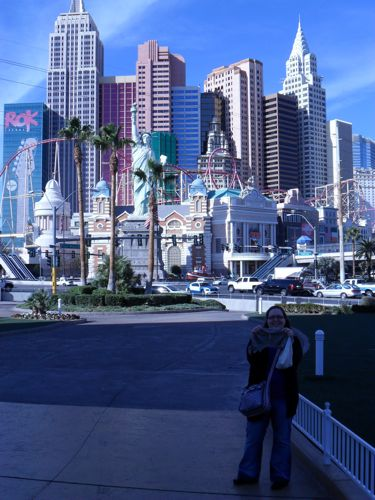 Me and Sharktooth in Vegas
