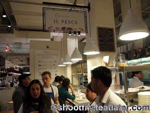 Eataly NYC- Il Pesce