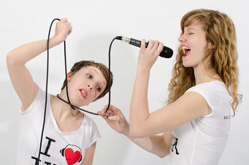 I ♥ JKK - Der junge Kulturkanal: Wir hängen für euch am Mikro.