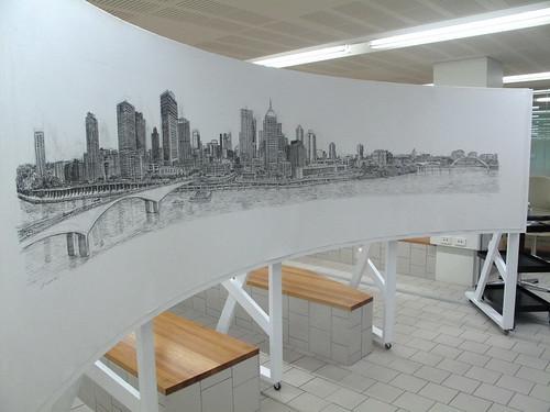Brisbane by Stephen Wiltshire
