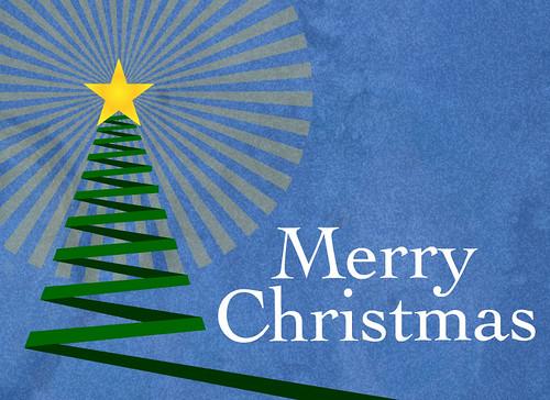Tree Christmas Card.