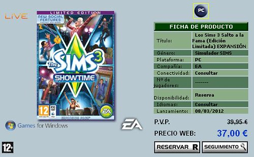 Pre-Order Showtime via Amazon Spain and GameShop Spain