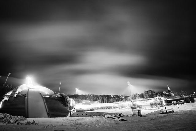 Holmenkollen by night
