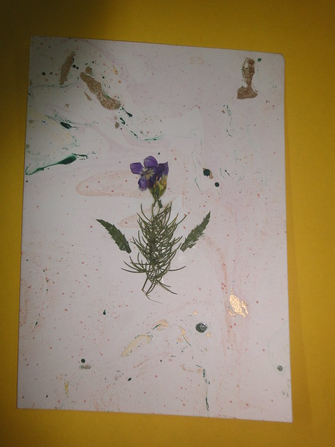 Dried Flower New year Card 3