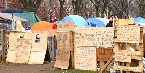 Occupy New Haven (Protest Signs)