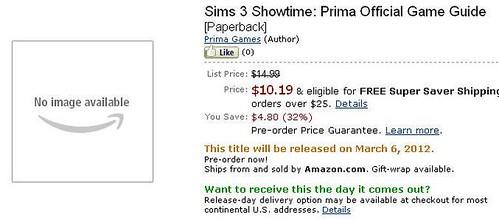 Pre-Order the Showtime Prima Guide via Amazon