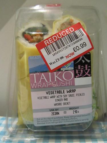 Taiko Wrap Sushi (Waitrose)