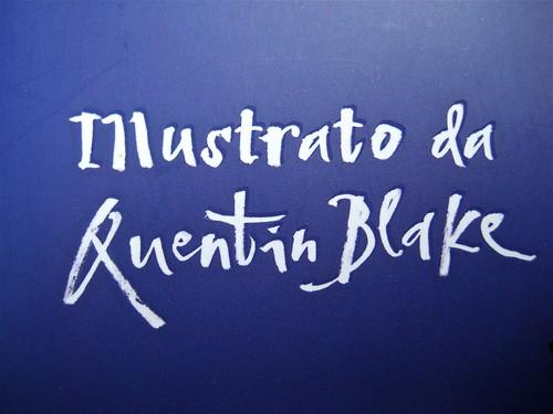 David Walliams, Campione in gonnella (The Boy in the Dress), Giunti 2011. Illustrazioni di Quentin Blake, progetto grafico di Simonetta Zuddas. cop. (part.), 6