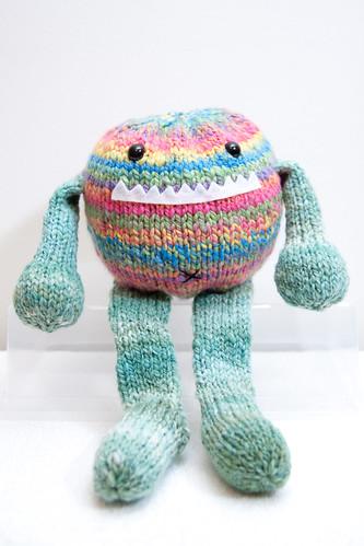 Tony the Handspun Toy-Box Monster