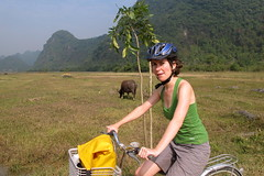 Biking on Cat Ba Island