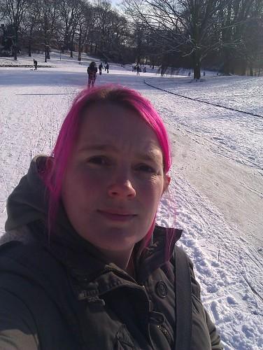 Moi on the ice