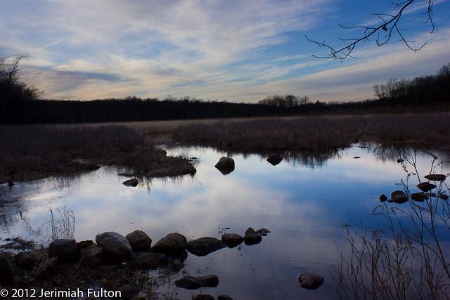 Pond and Sky