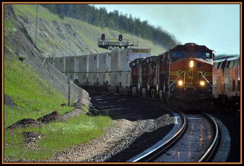 Summit Montana: From The Empire Builder by Loco Steve