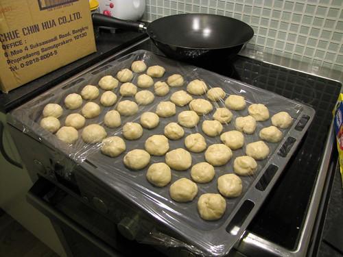 50 balls of dough