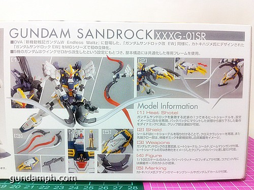 MG 1 100 Sandrock EW Out Of The Box Build Review (4)