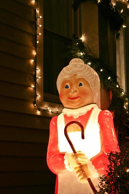 Creepy Mrs. Claus