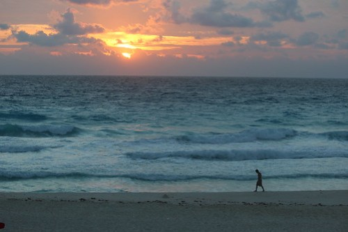 The first sunrise of 2012