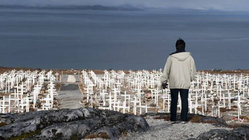 Greenland cemetery