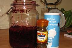 beetroot in jar