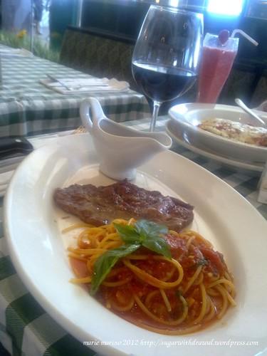 Italiannis Beef with Pasta
