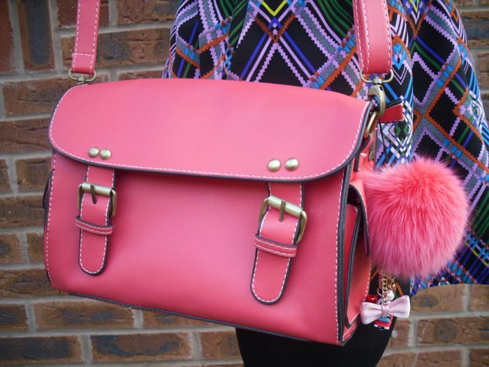 little pink bag
