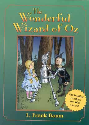 Wonderful Wizard of Oz cover 1