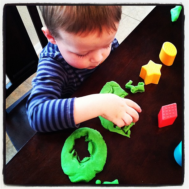 Homemade play doh