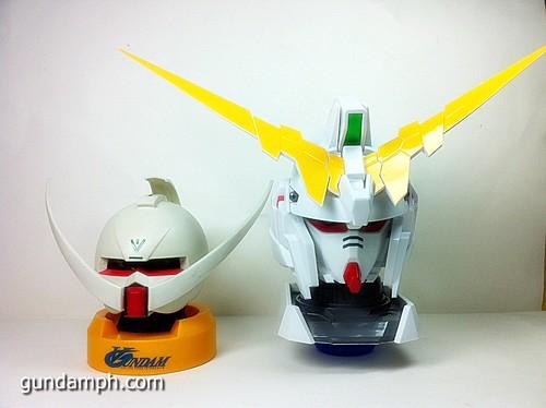 Banpresto Gundam Unicorn Head Display  Unboxing  Review (58)