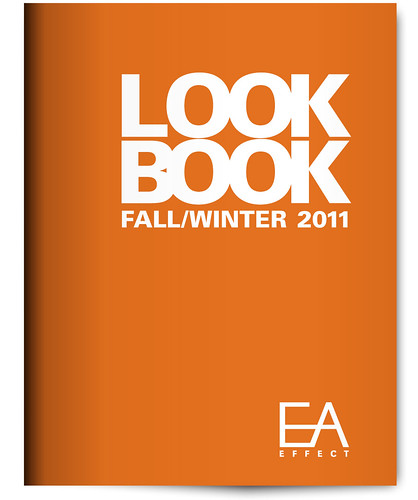 Look Book Graphic Design Project - EA Effect - Cover
