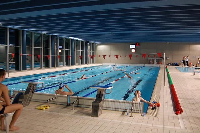 Warm-up pool at the Rijeka 2008 Europeans
