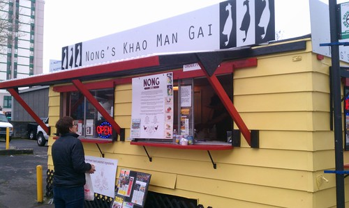 Nongs Khao Man Gai 2 Food Carts Portland